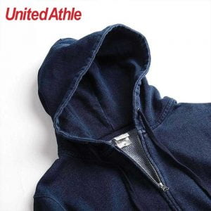 3905 12.2oz Adult Indigo Full Zip Hooded