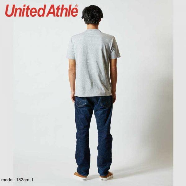 United Athle 5004-01 5.6oz Adult Henry Collar Tee