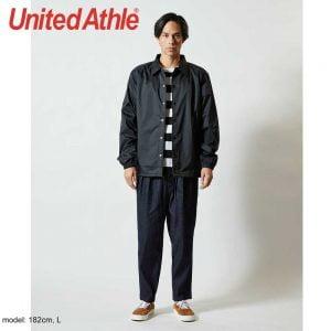 United Athle 7059-01 Nylon Coach Jacket