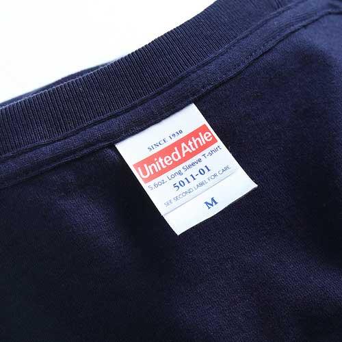 United Athle 5011-01 Long Sleeve Cotton T-Shirt