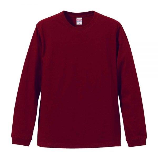 United Athle 5011-01 5.6oz Long Sleeve Cotton T-Shirt