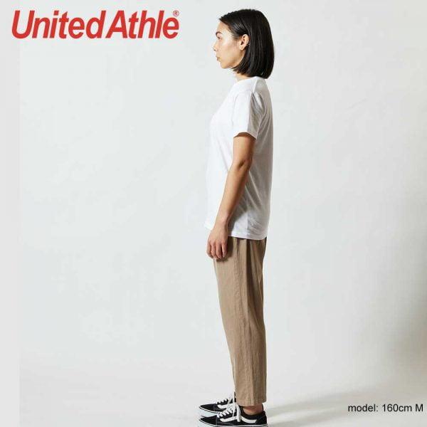 United Athle 5001-03 5.6oz Ladies Cotton Tee