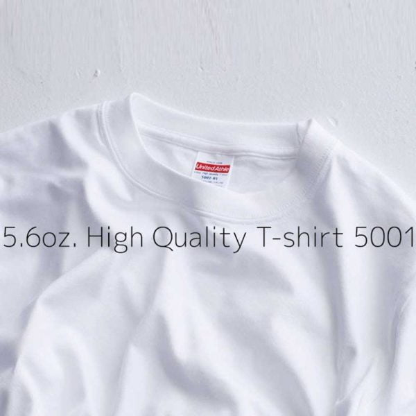 5001 5.6oz 日本新款優質潮流全棉 T 恤
