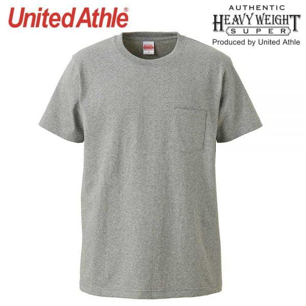 4253 7.1oz 圓領短袖有袋超重磅T恤