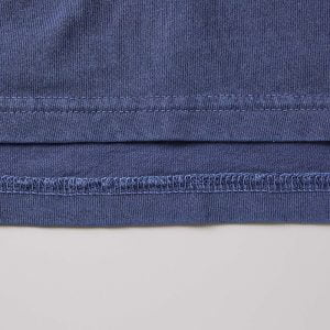 5029 5.6oz 顏料染圓領短袖有袋 T 恤