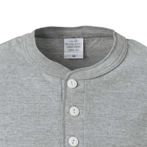 United Athle 5004 5.6oz Adult Cotton Henry Collar T-shirt