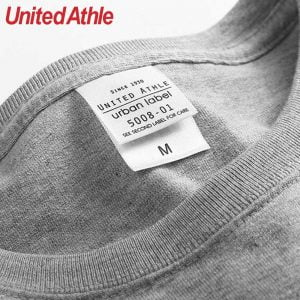 United Athle 5008-01 5.6oz 寬版口袋T恤