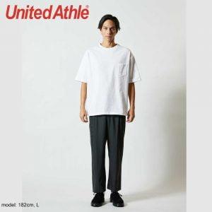 United Athle 5.6oz 5008-01 Oversized 口袋T恤