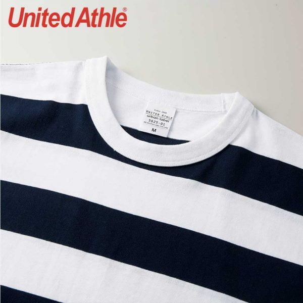 United Athle 5625-01 Striped Tee