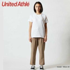 United Athle 5001-03 5.6oz 女裝全棉T恤