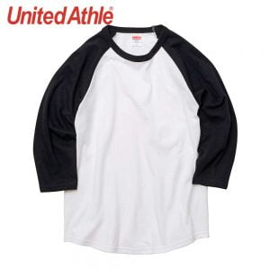United Athle 5045-01 5.6oz 七分袖牛角袖 T恤