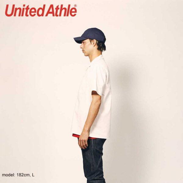 United Athle 1759-01 T/C 開襟口袋襯衫