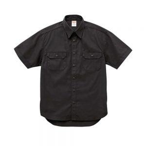 United Athle 1772-01 T/C 短袖口袋工作襯衫