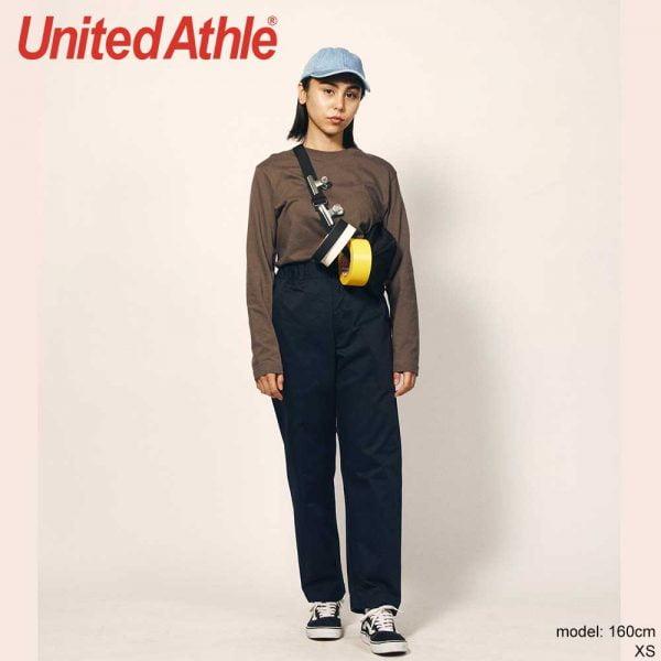 United Athle 7475-01 T/C 輕便抽繩長褲