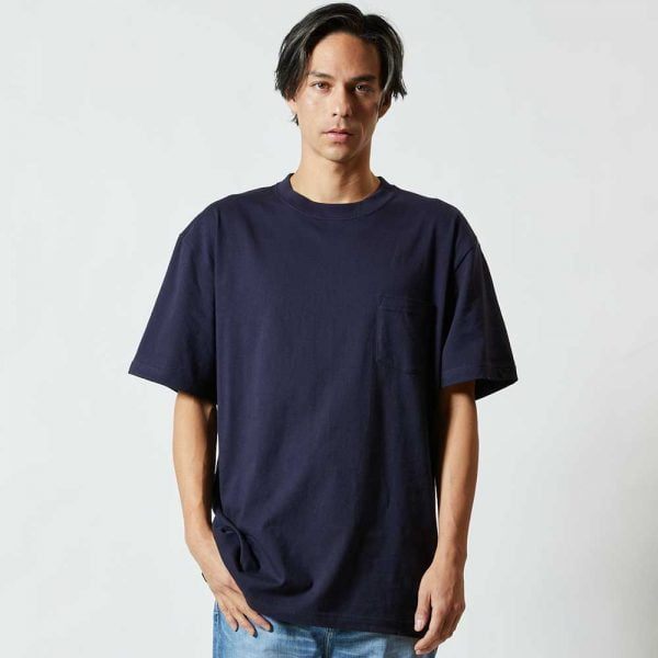 5006-01 5.6oz 全棉口袋T恤